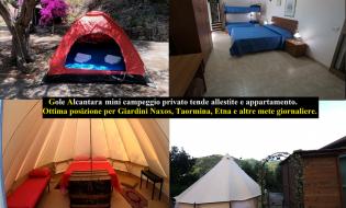 4 Notti in Campeggio a Motta Camastra